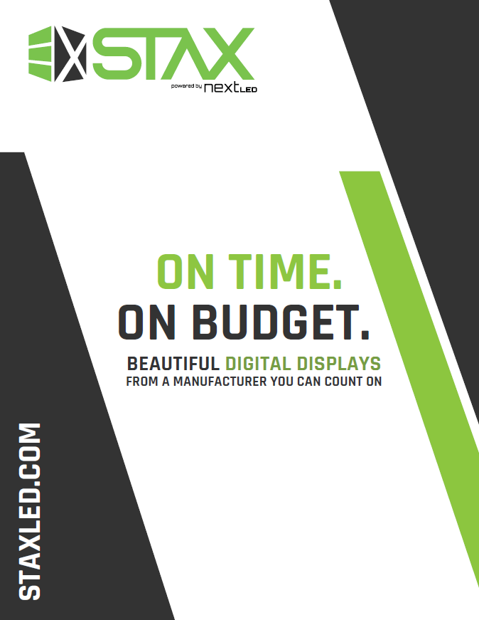 STAX tri-fold brochure